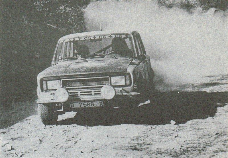 Ράλι Κύπρος 1977 - Salvador Canellas Jord- i Sabater - Seat 124D Especial 1800 Cyprus Rally