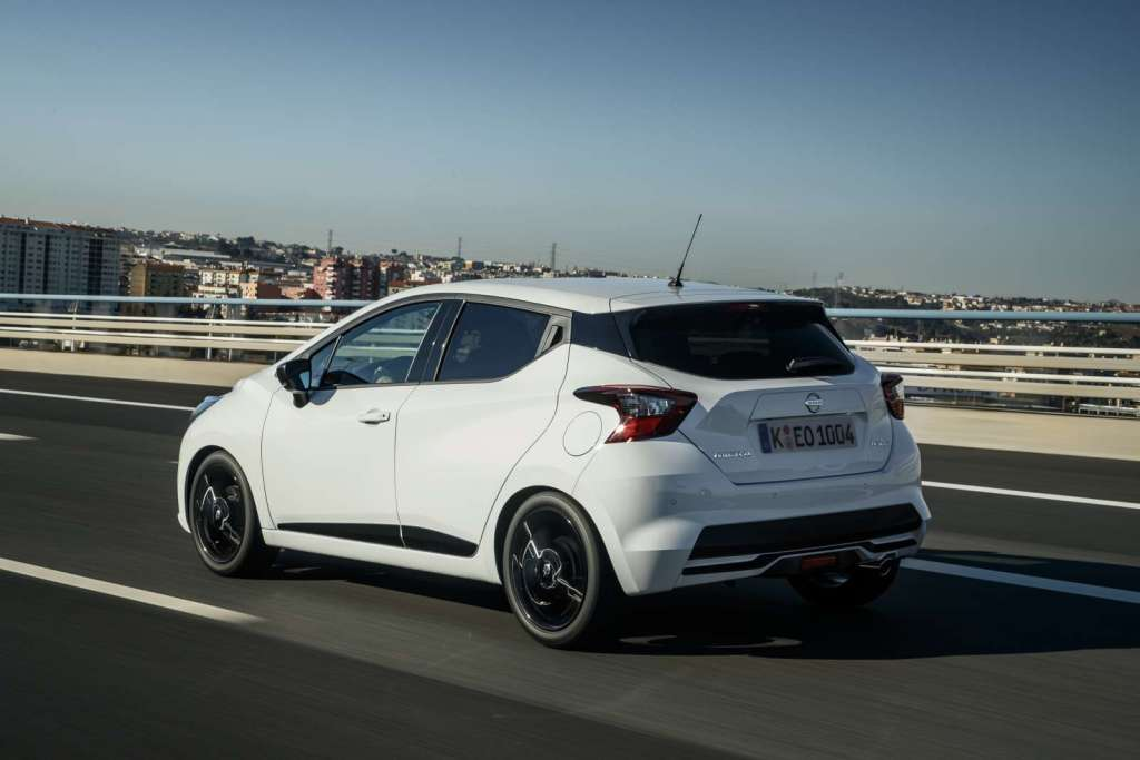 More Micra Live Event - White Micra N-Sport - Dynamic Rear 13-source