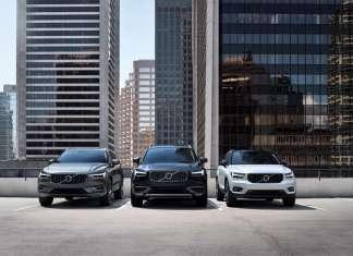 Volvo Cars' SUV line-up