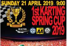 1ST KARTING SPRING CUP 2019 POSTER