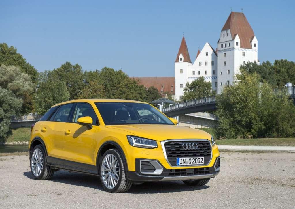 The new Audi Q2 in Ingolstadt