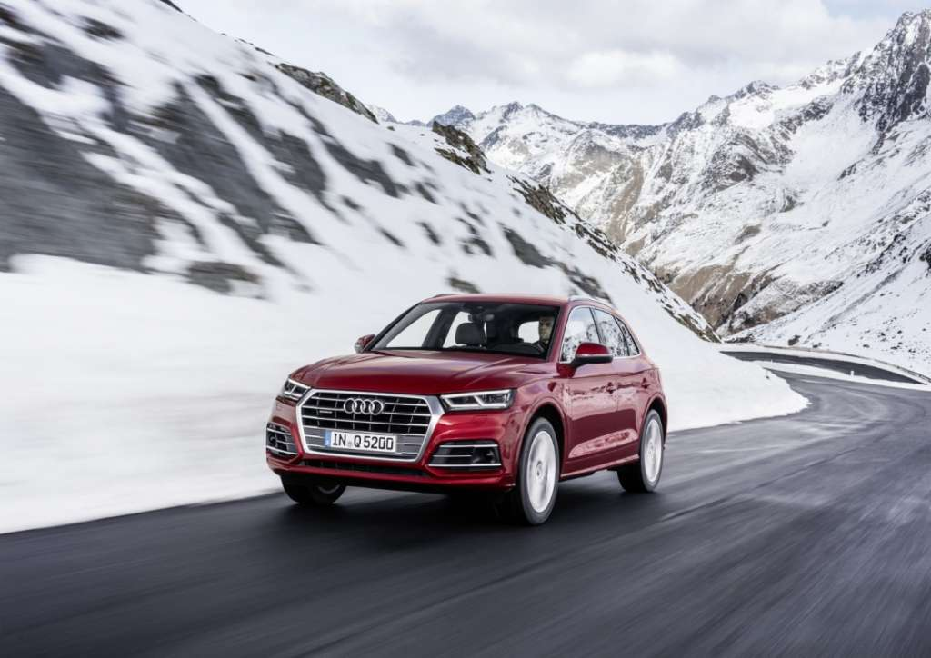 An Audi success story – 8 million cars with quattro drive