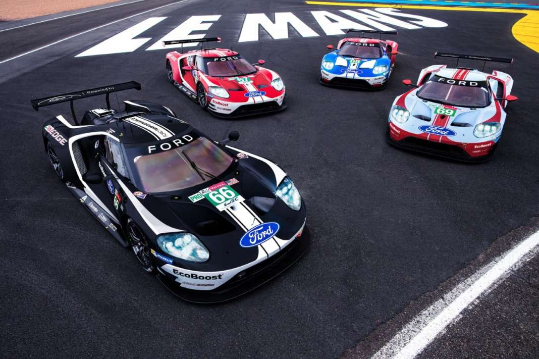 FORD TEAM AT LE MANS 2019