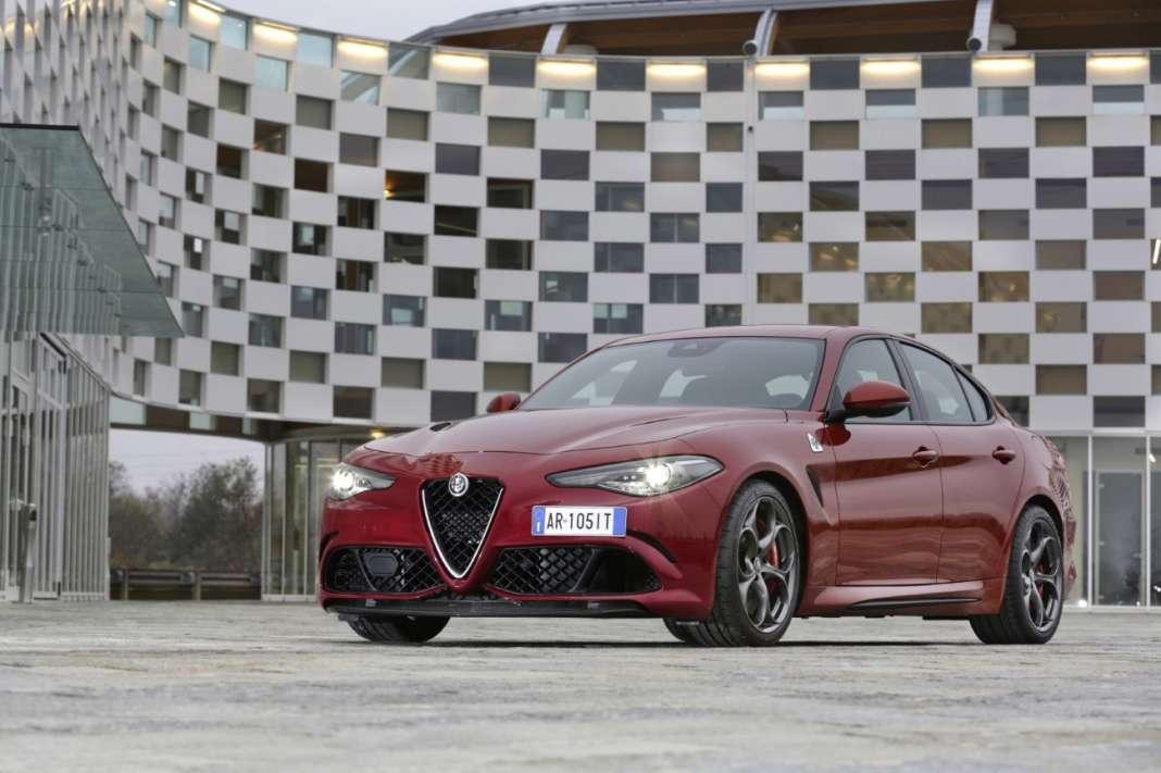 Alfa Romeo Giulia Quadrifoglio -1
