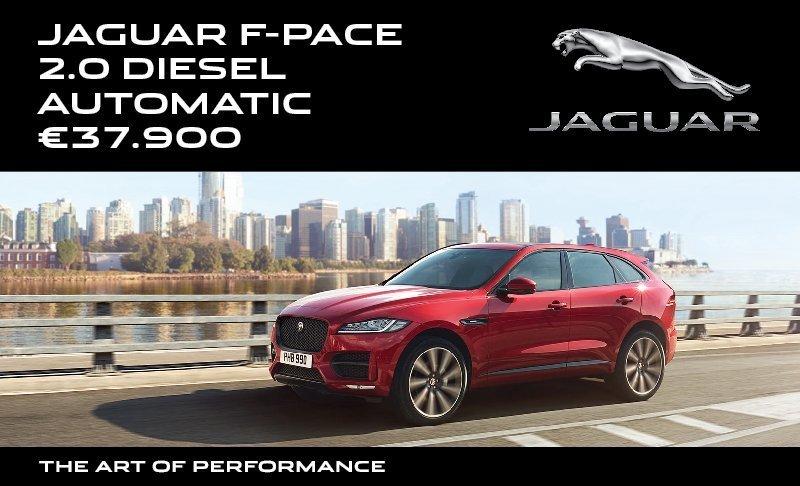 Jaguar F Pace - offers
