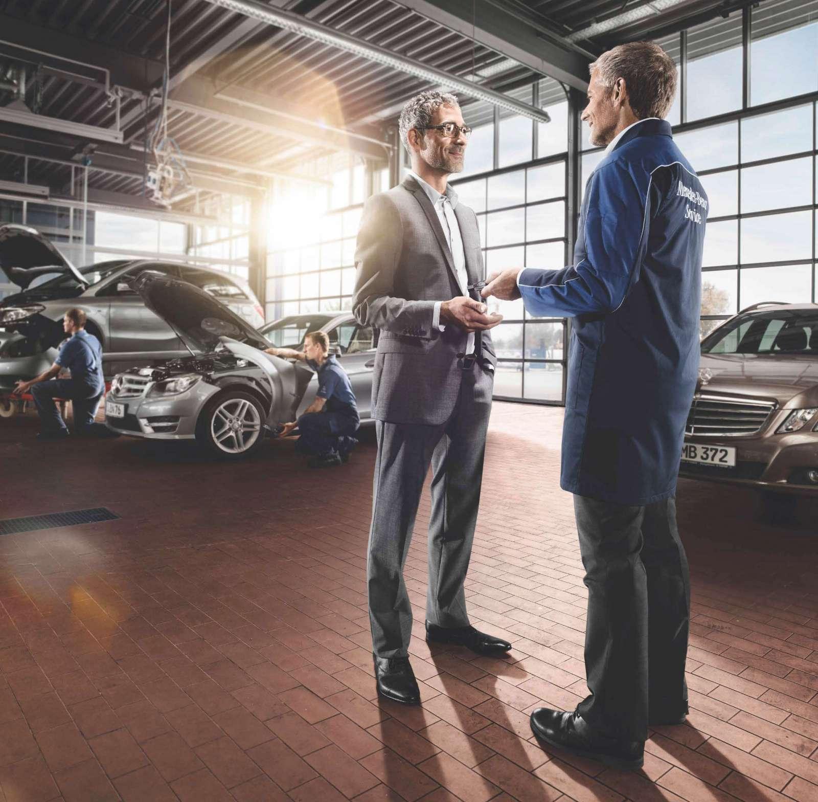 Mercedes Benz Repairs: Νέα πακέτα Service Mercedes Benz