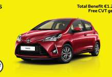 TOYOTA YARIS offers