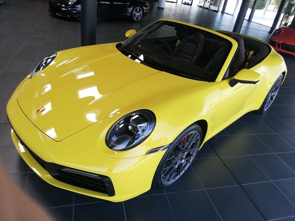Porsche Carrera S Cabrio