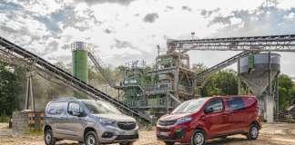 Opel Combo Cargo 4x4 & Opel Vivaro 4x4 (right)