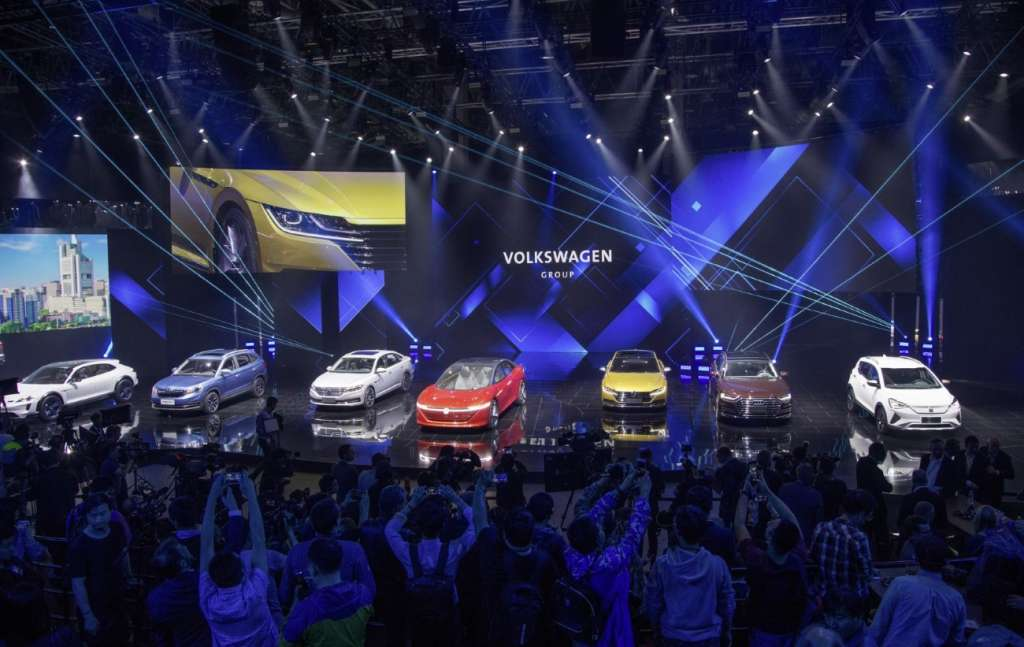 Volkswagen takes over leading position for electro-mobility in C