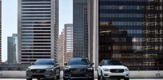 Volvo Cars' SUV line-up