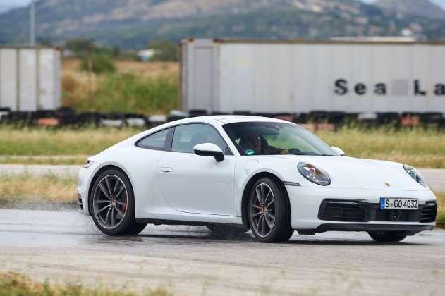 Porsche Wet mode