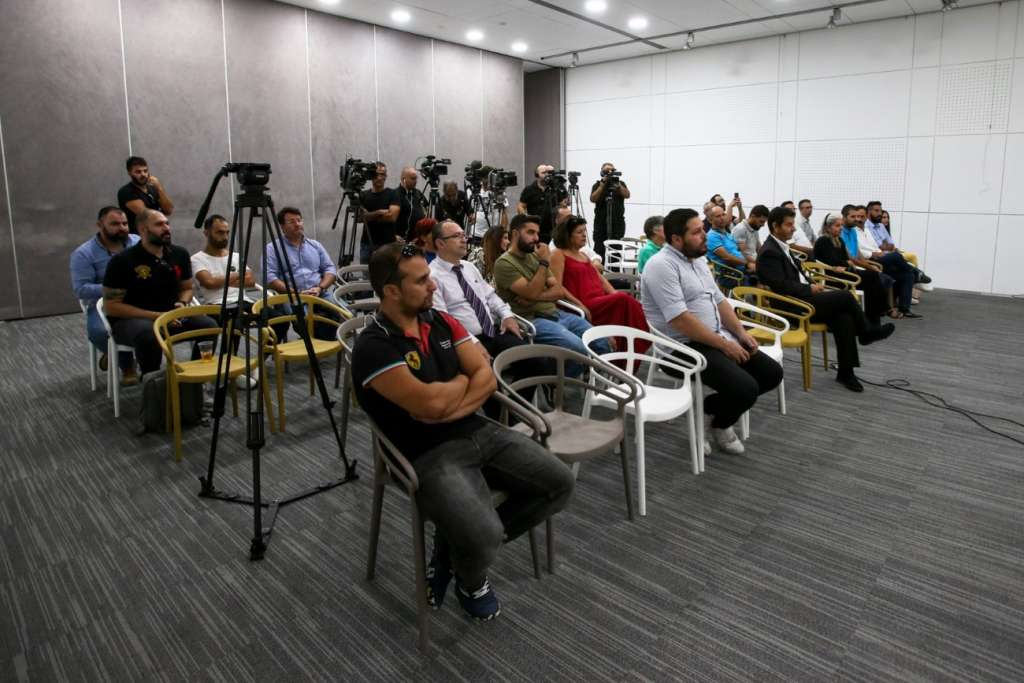 Cyprus rally press conference