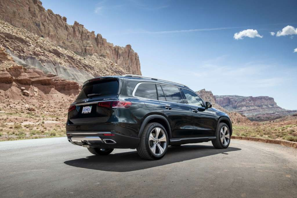 Der neue Mercedes-Benz GLS Utah 2019The new Mercedes-Benz GLS Utah 2019