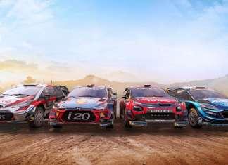 WRC 8 game