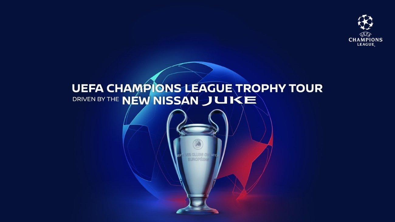 All-new Nissan JUKE drives the 2019/20 UEFA Champions League Tro
