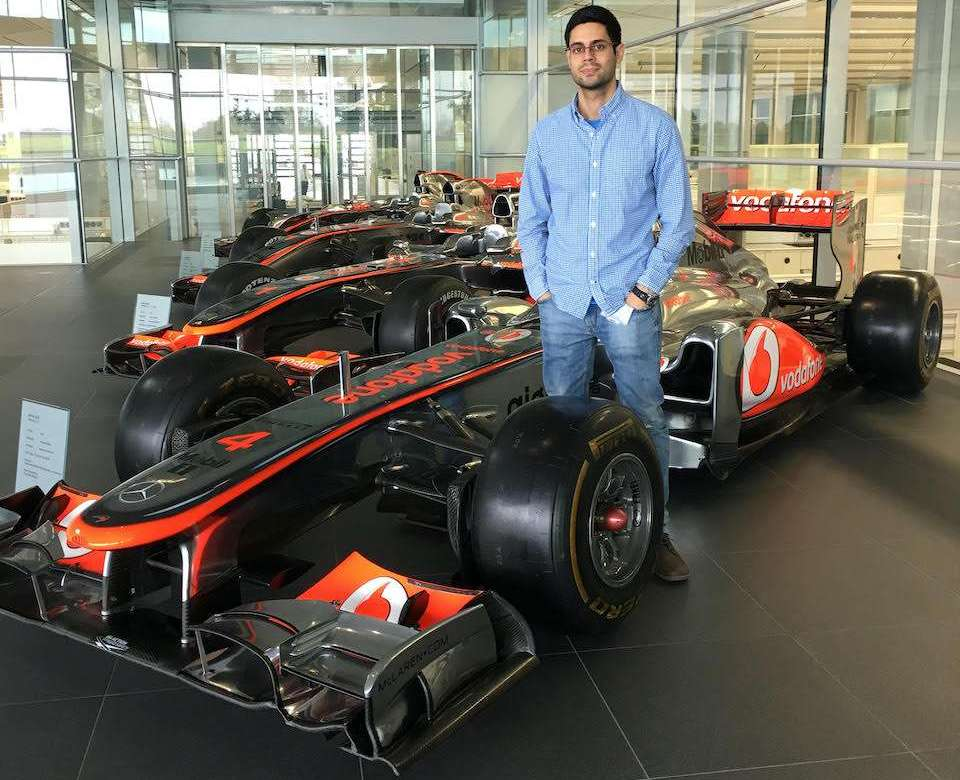 Marios Constantinou McLaren