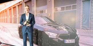 BMW GOLDEN STEERING WHEEL
