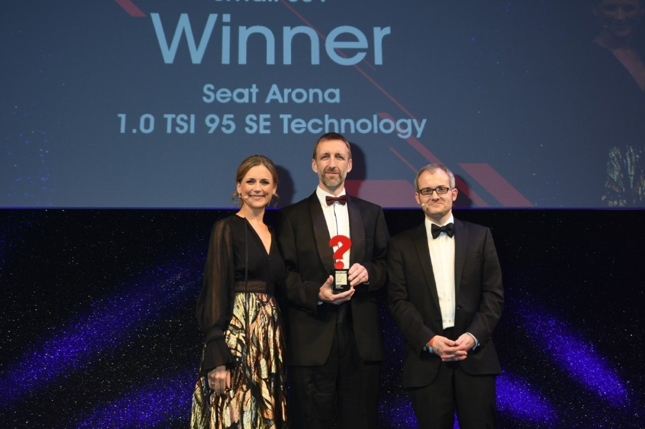 SEAT ARONA IS THE SMALL SUV OF THE YEAR