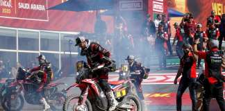 Ricky Brabec and Honda claim victory at the 2020 Dakar Rally