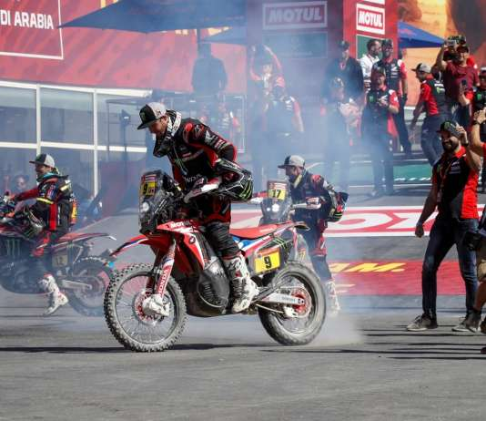 Ricky Brabec and Honda claim victory at the 2020 Dakar Rally