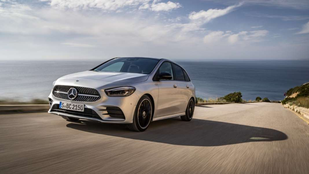 Mercedes-Benz B-Klasse Mallorca 2018The new Mercedes-Benz B-Class