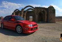 Mitsubishi Evolution Tommi Makkinen edition