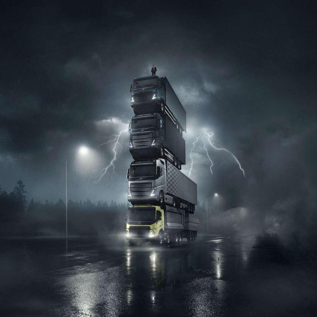 Ο Πύργος από την Volvo Trucks