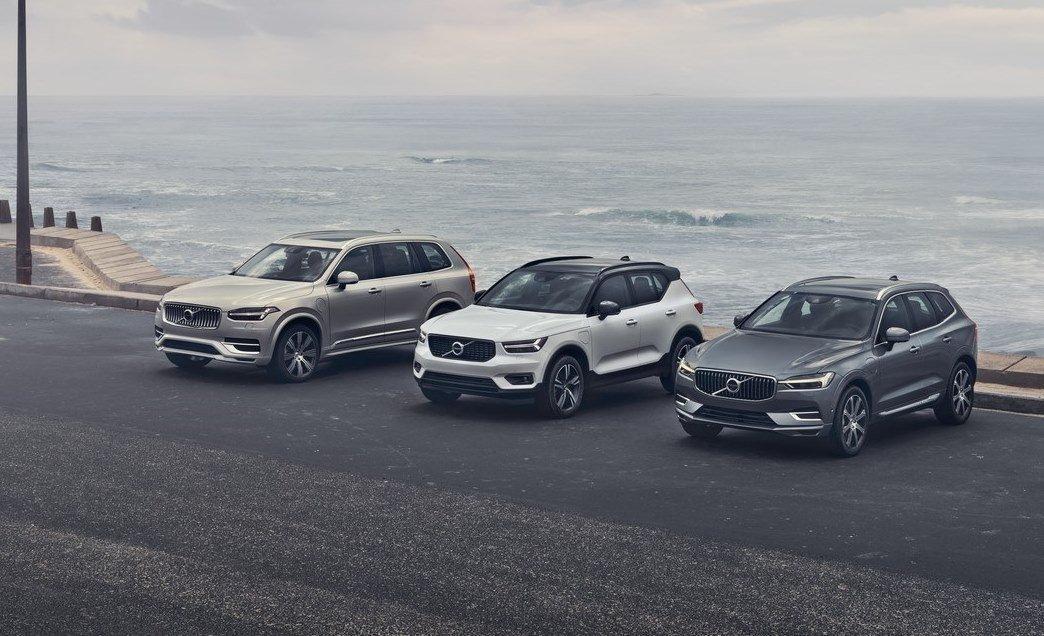 Volvo Cars' SUV range
