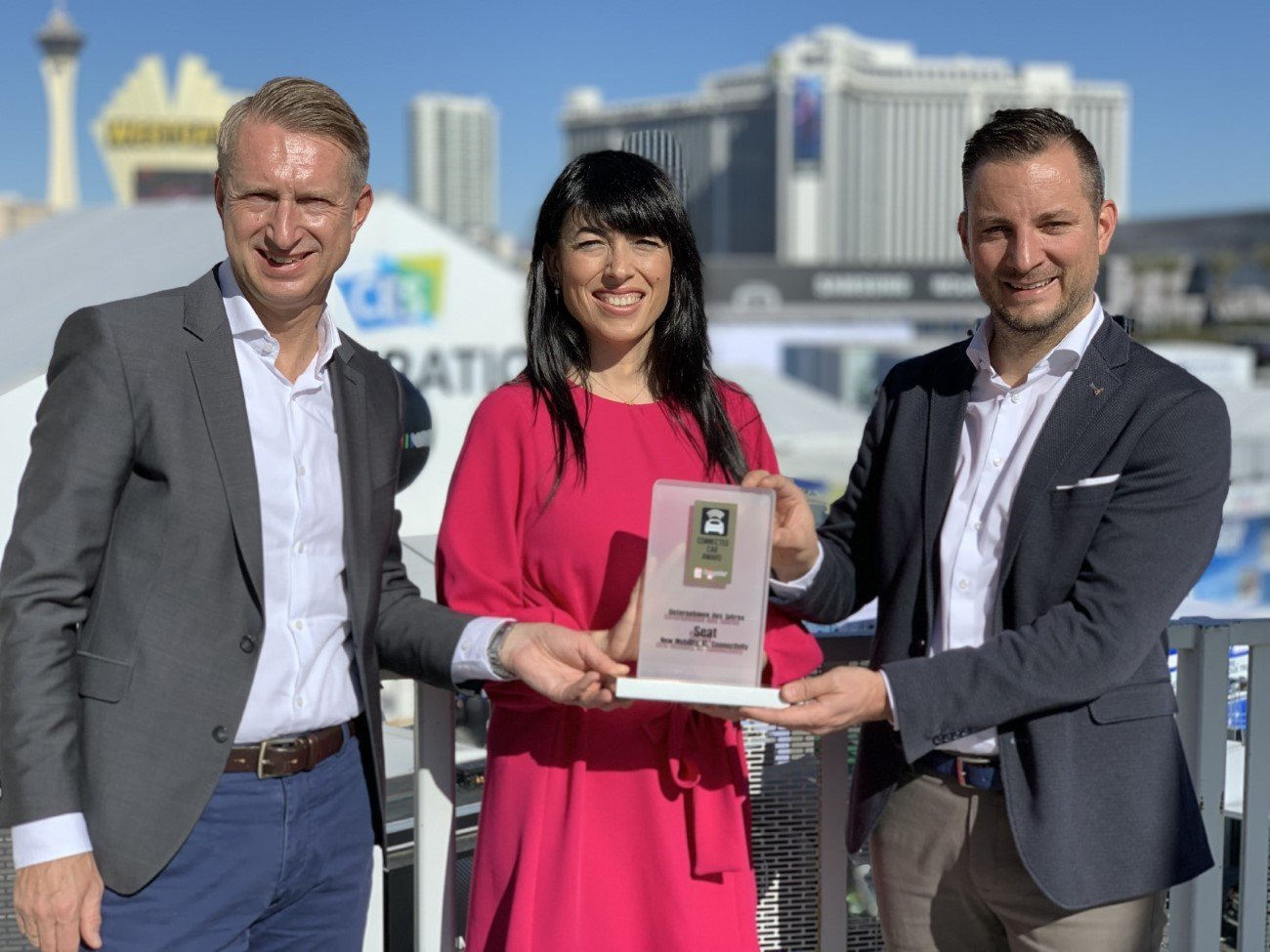 SEAT NAMED COMPANY OF THE YEAR