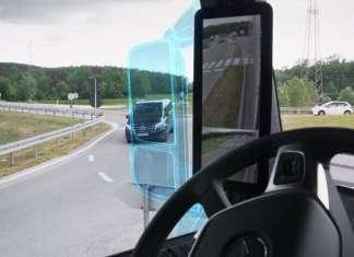 Mercedes MirrorCam.