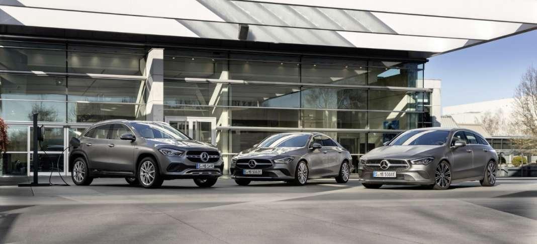 Mercedes Plug-in-Hybrid