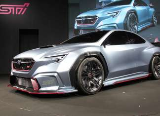 Subaru Viviz Performance STI Concept