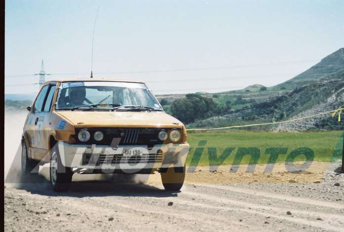 ΑΝΔΡΕΑΣ ΤΣΟΥΛΟΦΤΑΣ -FIAT ABARTH 130 TC
