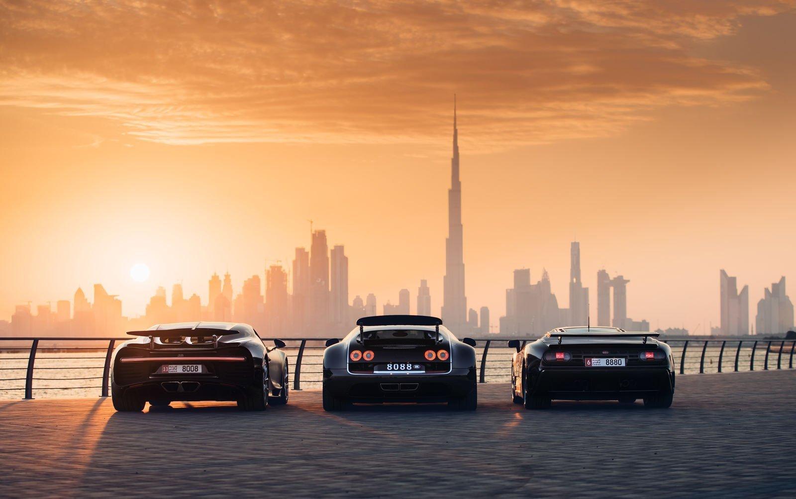 Bugatti holy trinity