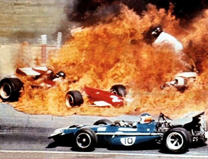 GP ESPAÑA 1970 - STEWART 12º ICKX