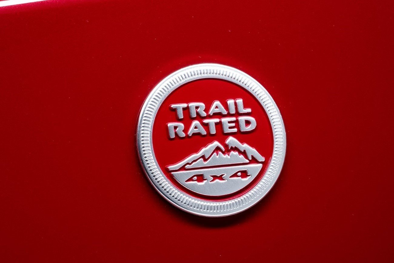 'TRIAL RATED' CERTIFICATE BY JEEP