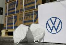 """We are Volkswagen - Thanks for keeping your social distance"""