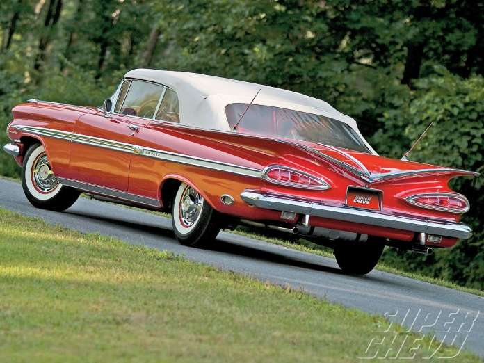 Chevrolet Impala Coupe 1958