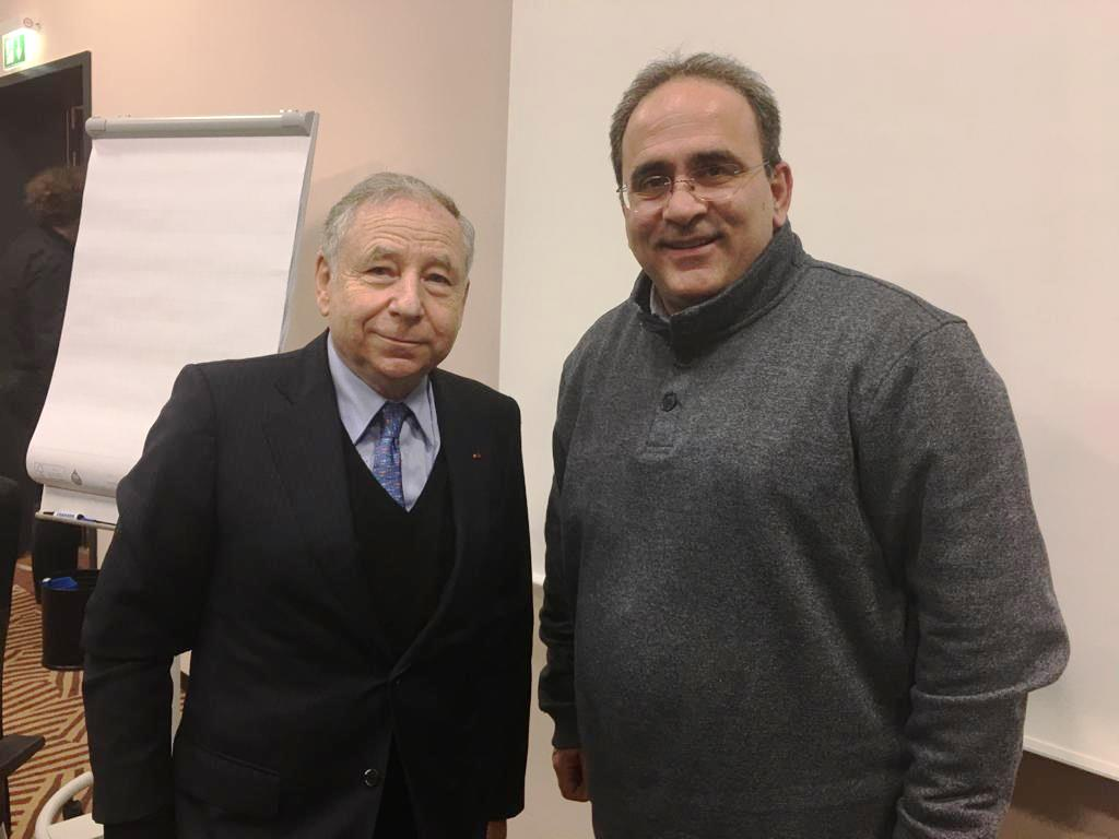 Jean Todt Petros Soutzis