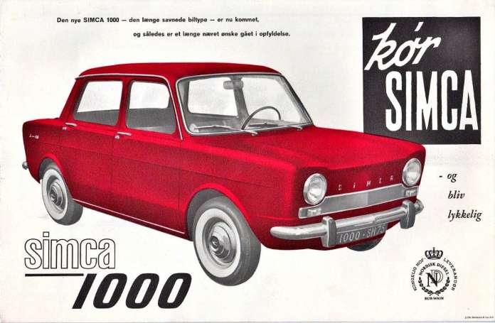 Simca 1000 1961