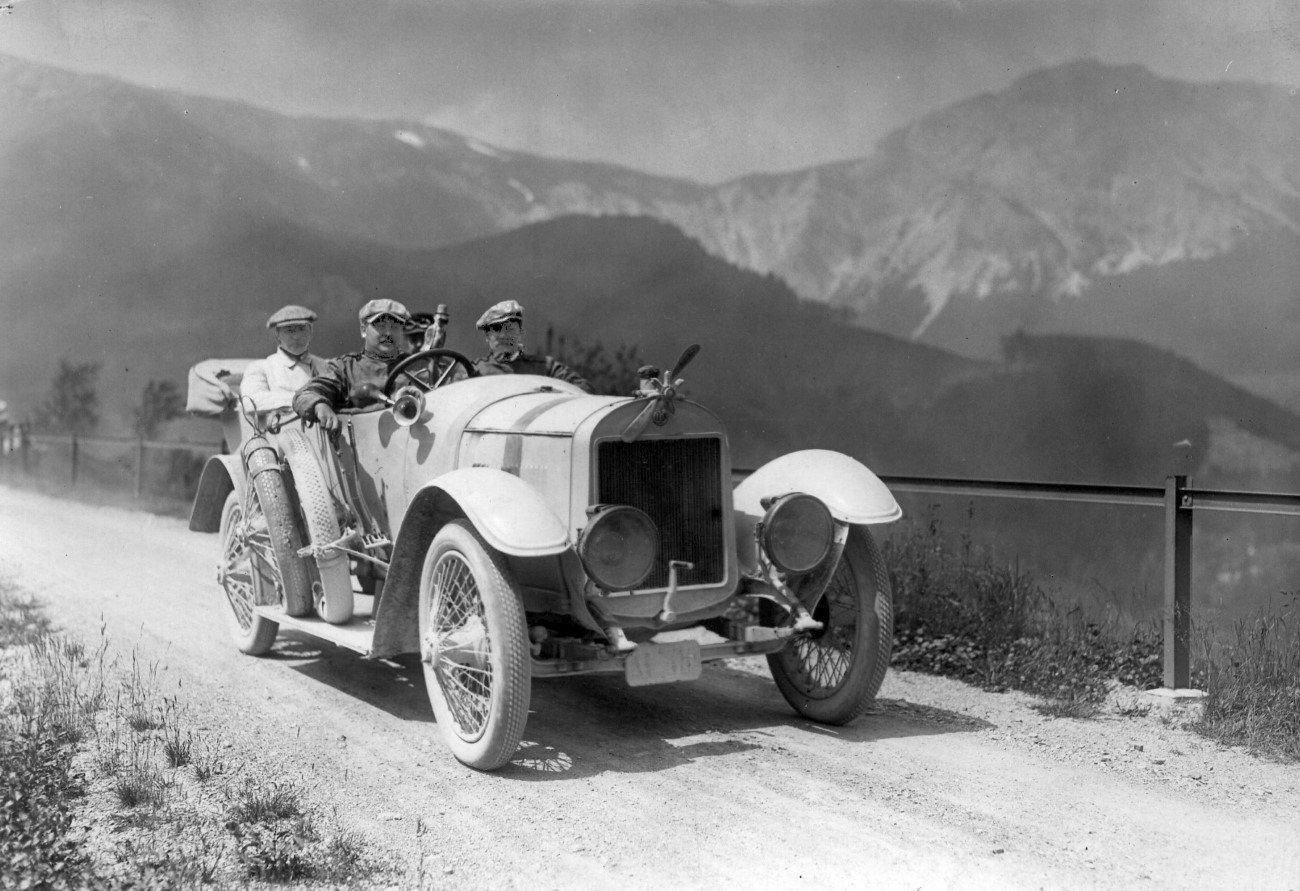 alpenfahrt 1910 ŠKODA AUTO