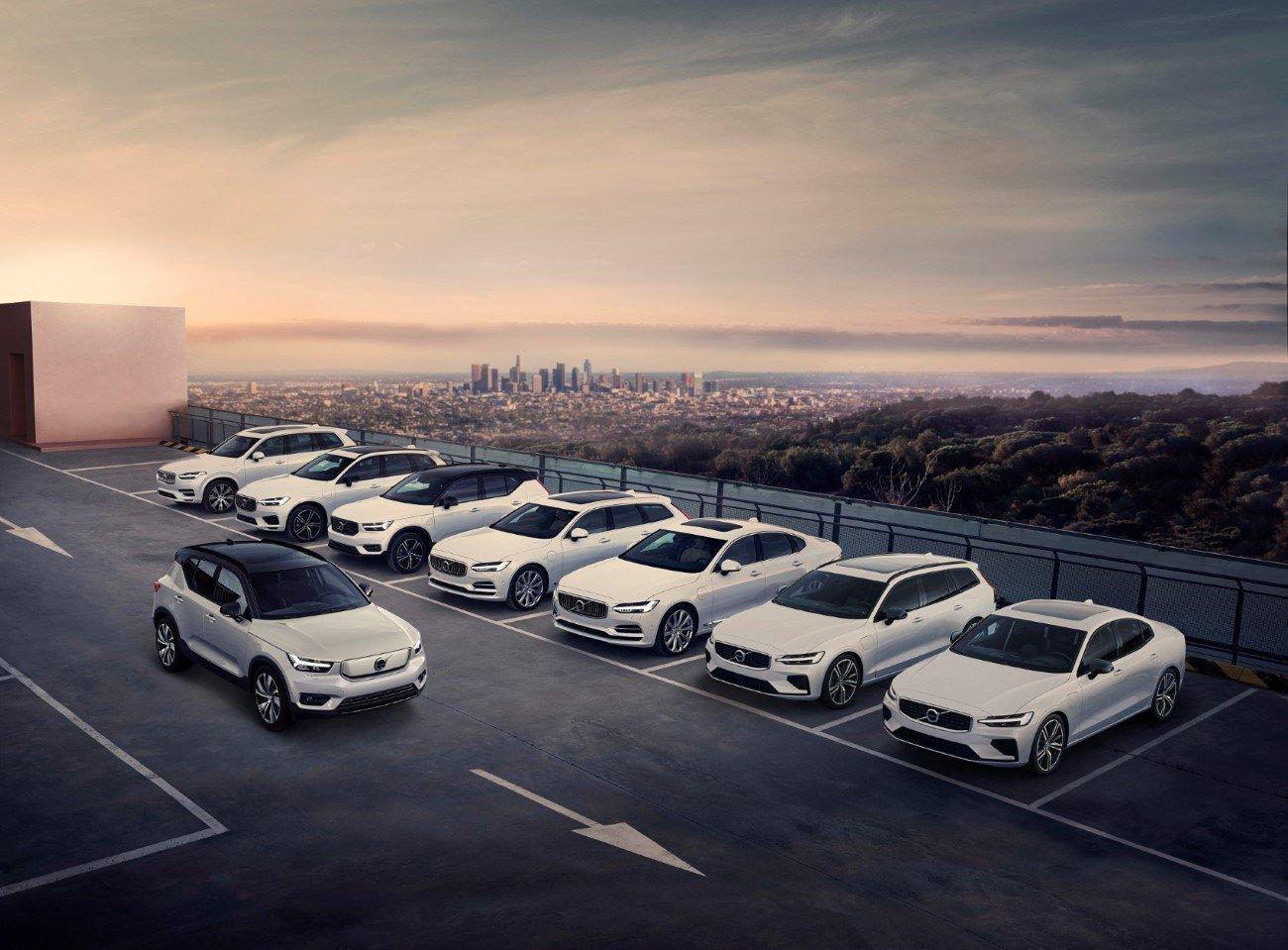 Volvo full car range