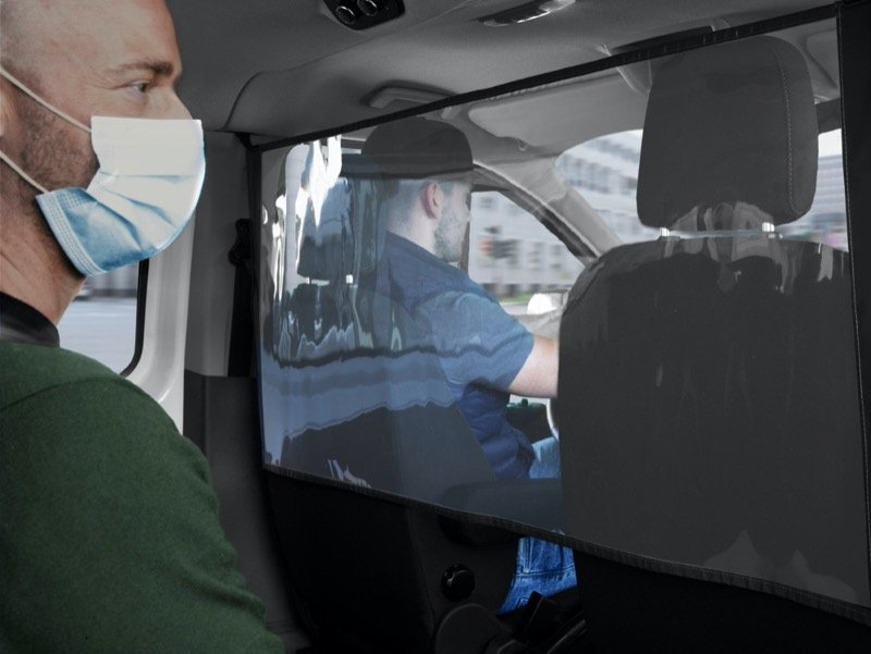 Ford Launches New Protection Shields to Help Ford Transit and Tourneo Occupants Social Distance Inside the Cabin