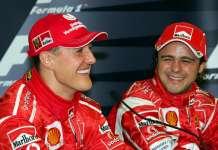 Michael Schumacher Felippe Massa