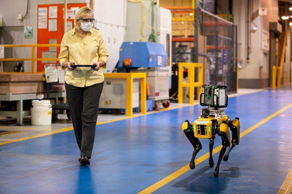 Fou legged robot FORD