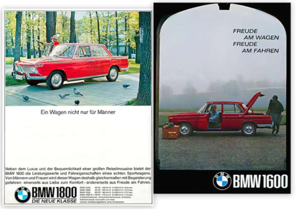 """Sheer Driving Pleasure"" BMW"