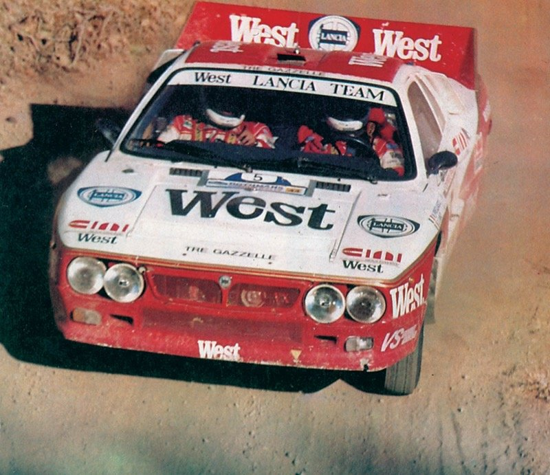 Lancia 037 WEST CYPRUS RALLY 1985