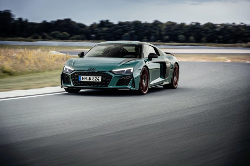 Audi R8 «green hell Edition»