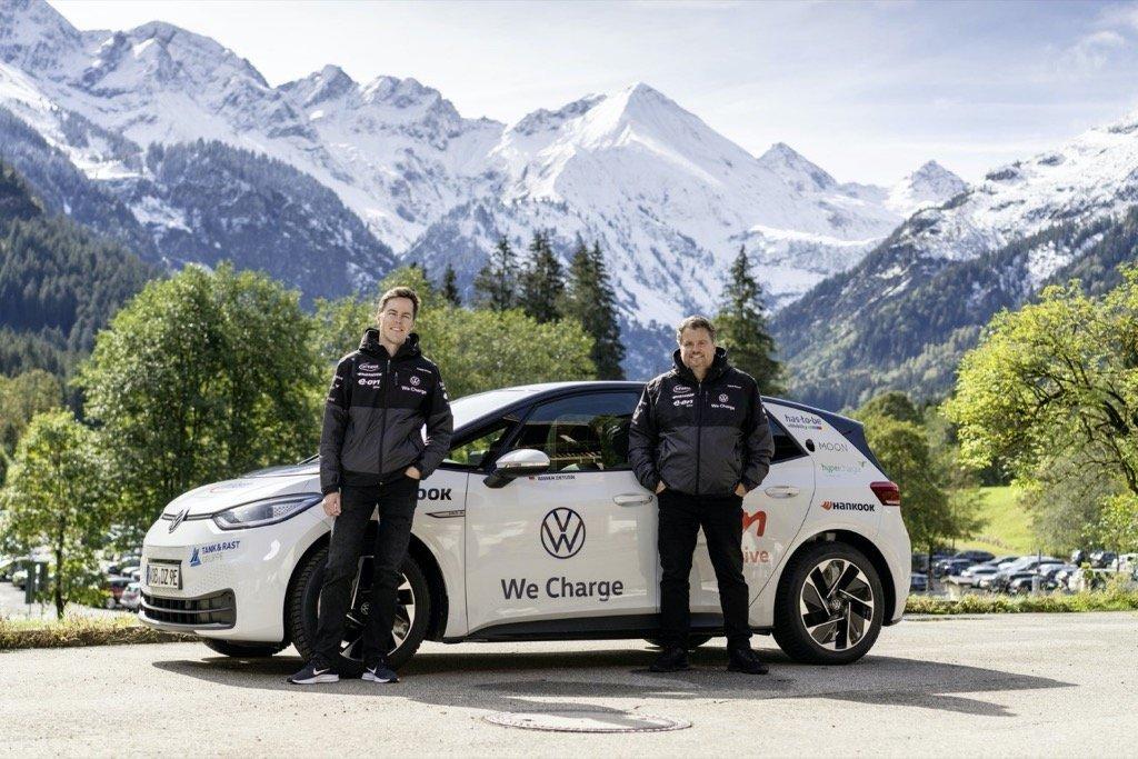 Start of the 20,000-kilometre marathon: testing the long-distance VW ID3